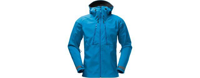 Norrona Trollveggen Flex 3 Jacket Men - Waterfall Blue