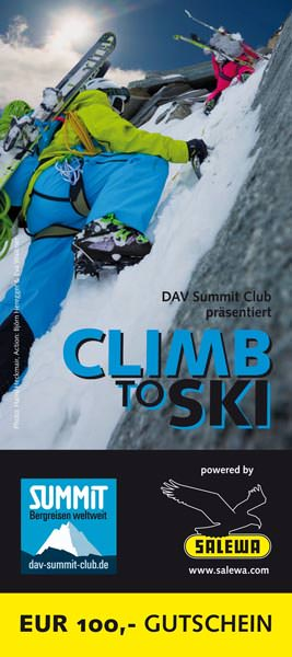 SALEWA - DAV Summit Club - Ski to Climb