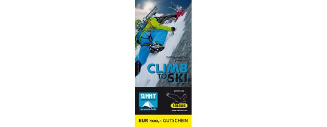 SALEWA - DAV Summit - Club Clim to Ski
