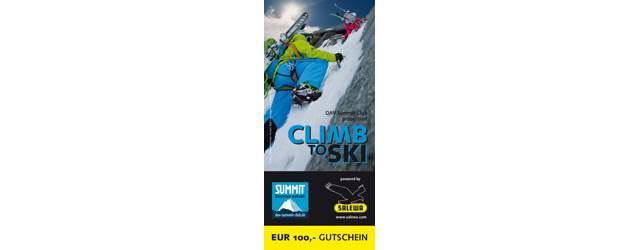 SALEWA - DAV Summit - Club Clim to Ski