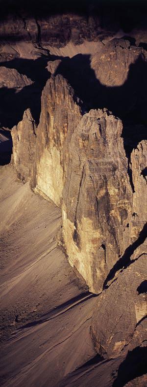 Dolomiten vertikal - Zinnen-Nordwand