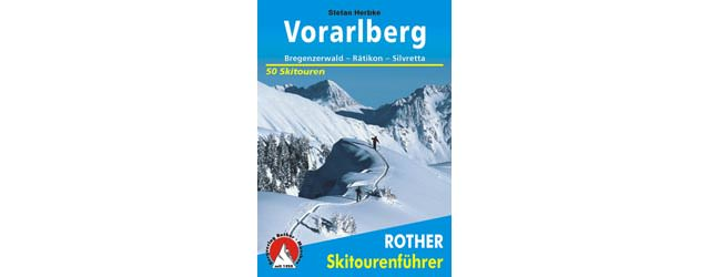 Rother Skitourenfuehrer - Vorarlberg