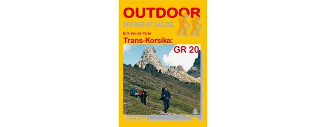 Wanderfuehrer - Trans-Korsika GR 20