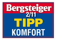 Bergsteiger Tipp Komfort 02 2011