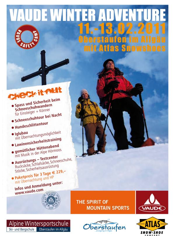 Vaude Winter Adventure Camp 2011