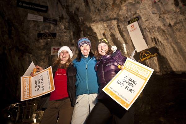 Ice Climbing Festival Kandersteg 2011 - Podium Women
