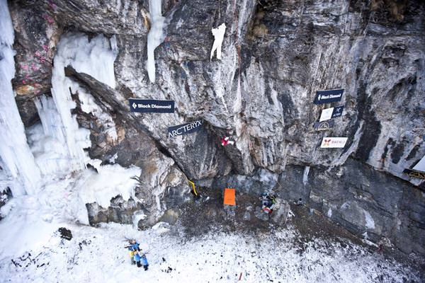 Ice Climbing Festival Kandersteg 2011 - The Wall