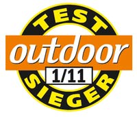Outdoor Testsieger 01 2011