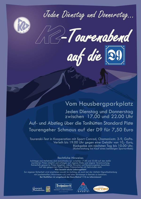 K2 - Flyer Tourenabend GAP 2011