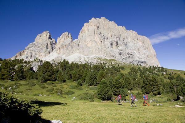 Langkofel, Dolomiten, Italien