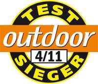 Outdoor Testsieger 04 2011