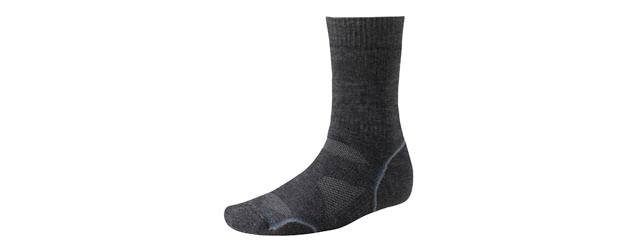 Smartwool PhD Outdoor Medium Crew - Charcoal Steel