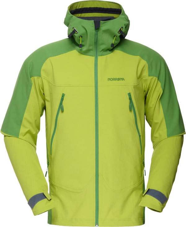 Norroena Falketind Flex 1 Jacket - Birch Green