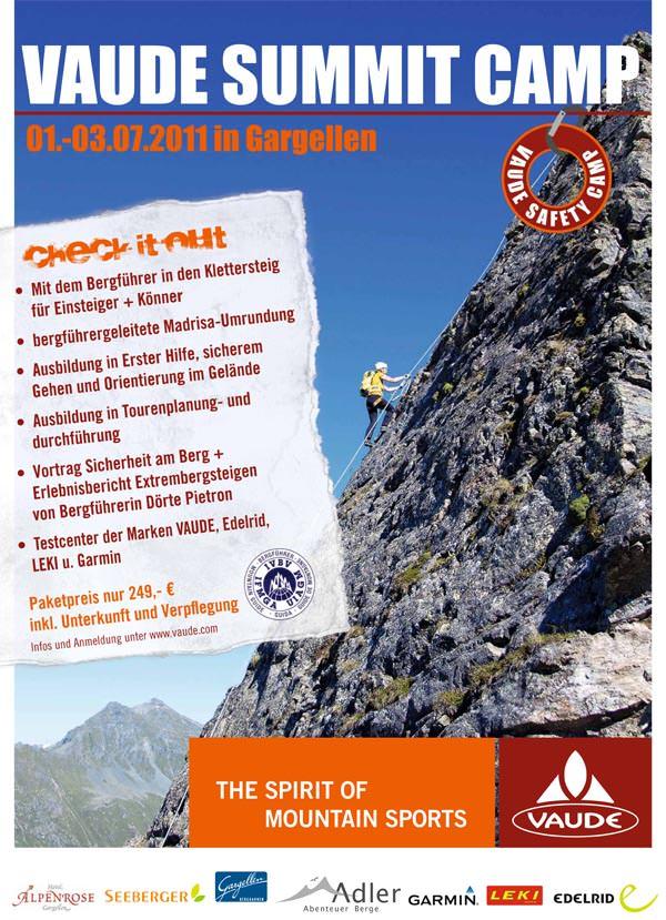 Vaude Summit Camp 2011
