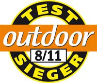 Outdoor Testsieger 08 2011