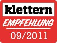 Klettern Empfehlung 09 2011