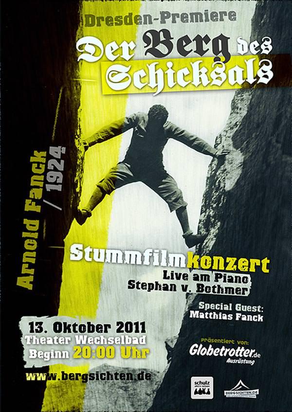 Plakat - Der Berg des Schicksals