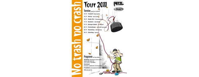 Petzl No Trash No Crash Tour 2011