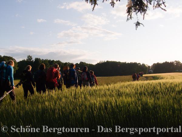 24 Stunden von Bayern 2011 - Kurz nach dem Start zur dritten Runde