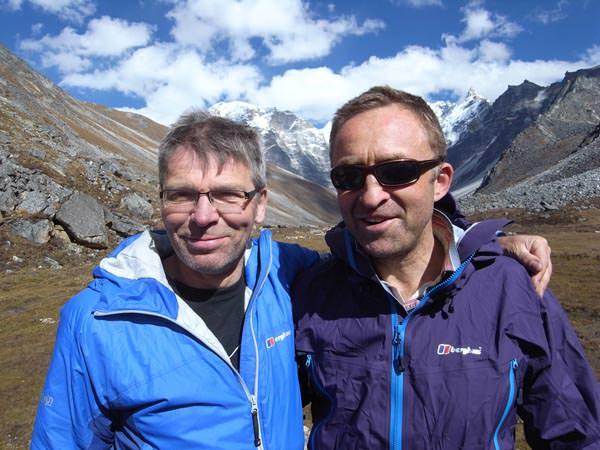 Mick Fowler und Dave Turnbull