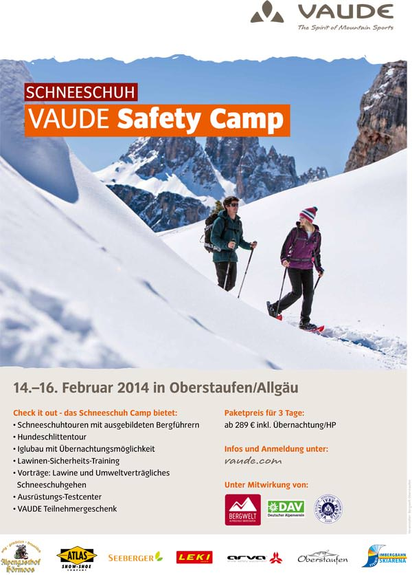 Vaude Schneeschuh Camp 2014