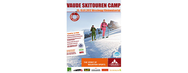 Vaude Skitouren Camp 2012