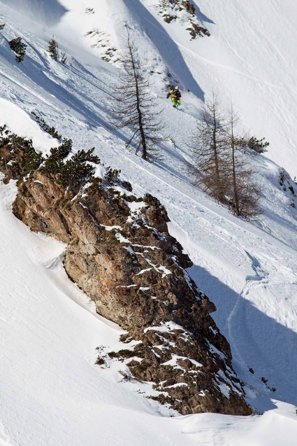 Freeride World Tour 2012 - Fieberbrunn - Eva Walkner