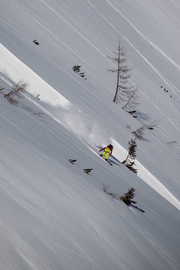 Freeride World Tour 2012 - Fieberbrunn - Liz Kristoferitsch