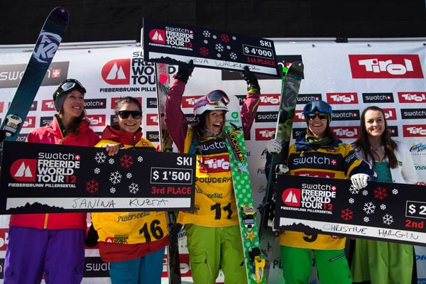 Freeride World Tour 2012 - Fieberbrunn