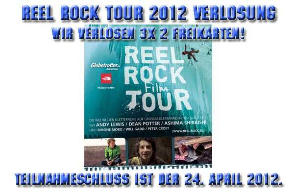Reel Rock Tour 2012 Verlosung