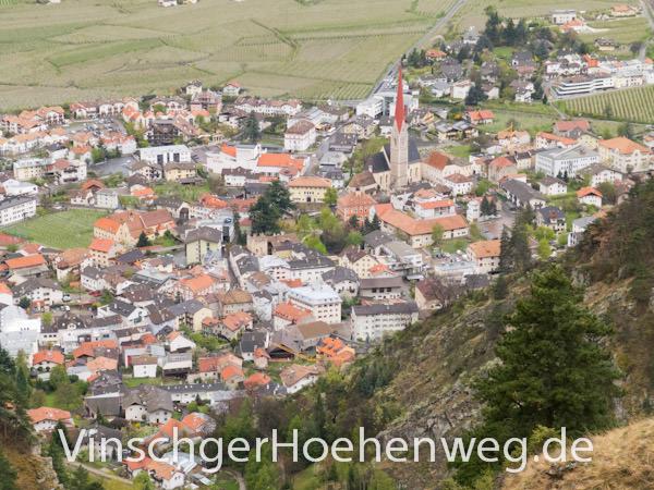 Vinschger Hoehenweg - Schlanders