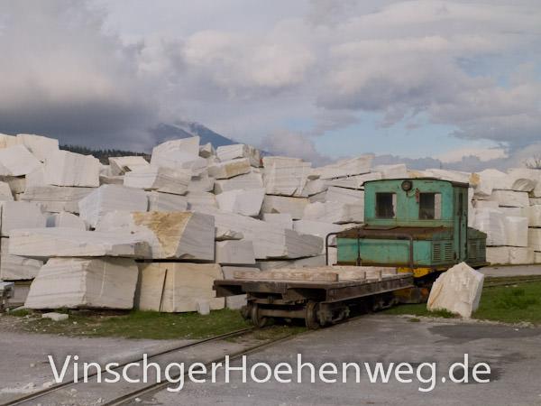 Vinschger Hoehenweg - Laaser Marmor