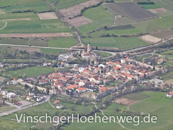 Vinschger Hoehenweg - Glurns