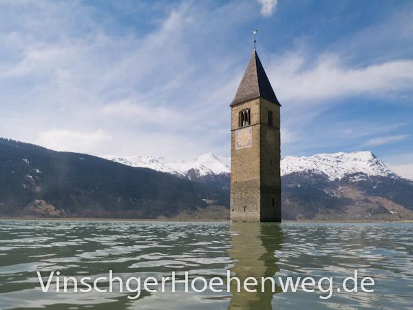 Vinschger Hoehenweg - Grauner Turm
