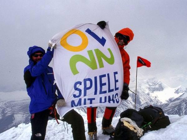 Gipfel Tashi Kang - Goetz Wiegand