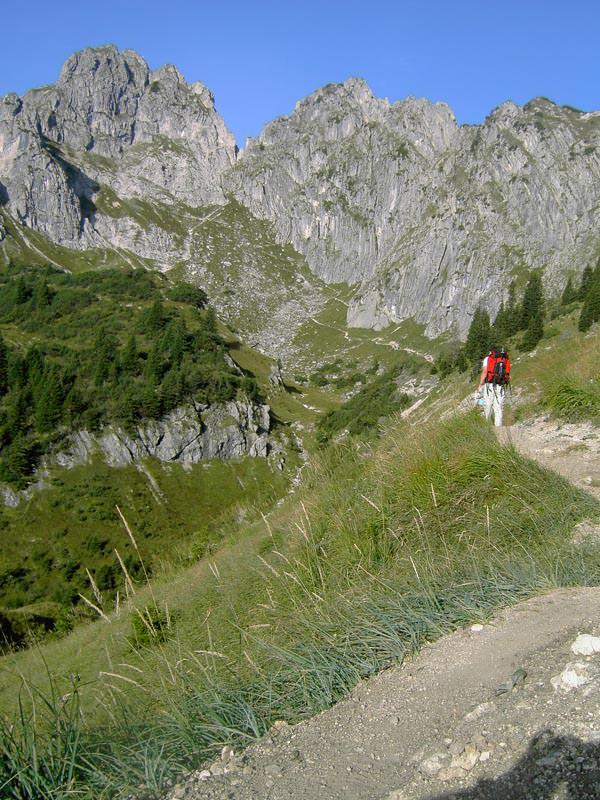 Maximiliansweg - Klammspitze - Ammergauer Alpen