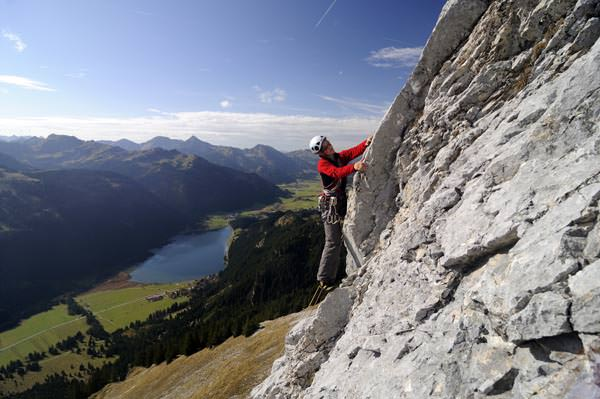 Tannheimer Tal - Klettern