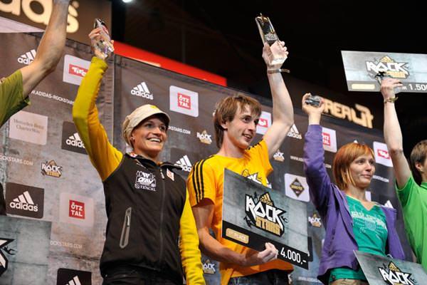 Adidas Rockstars 2011 - Gewinnerehrung