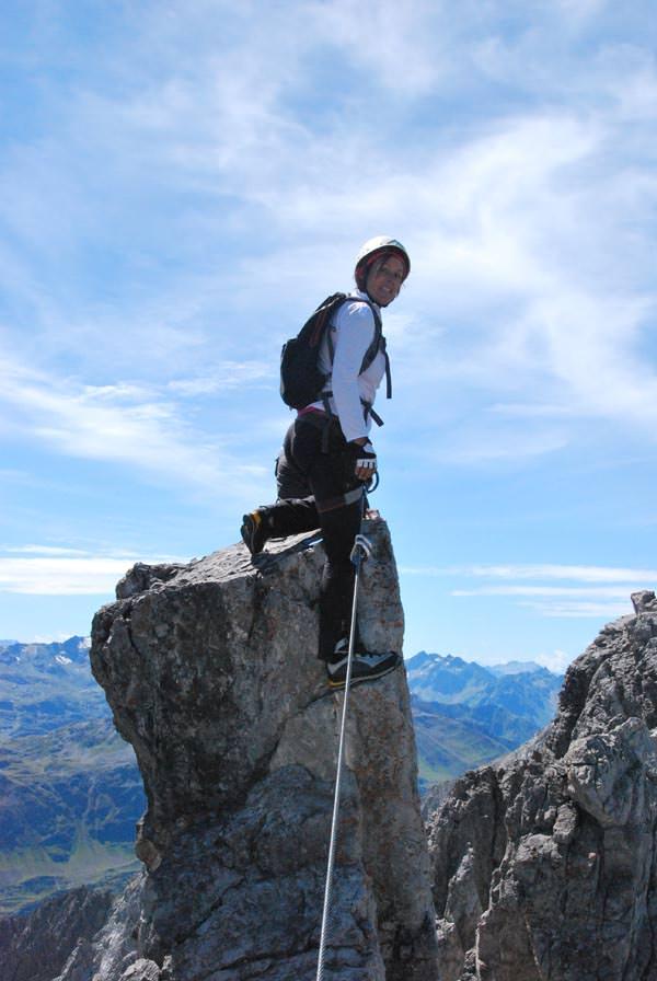 St Anton am Arlberg - Klettersteige