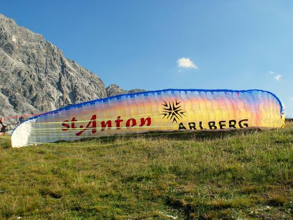 St Anton am Arlberg - Paragliden