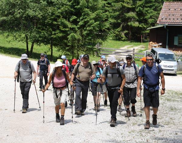 24 Stunden Wanderung am Achensee - Gehen
