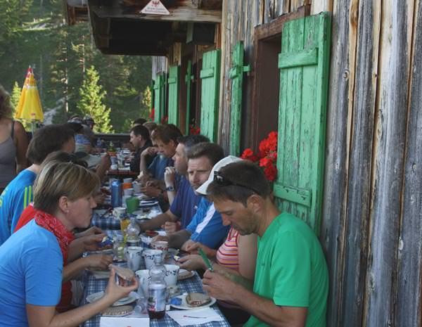 24 Stunden Wanderung am Achensee - Koeglalm