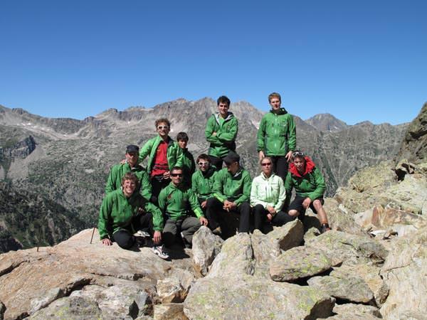 SAC Jugend-Expeditionsteam - Gruppenfoto