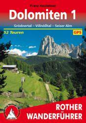 Rother Wanderfuehrer - Dolomiten 1