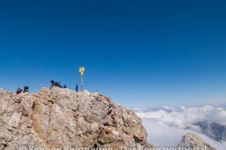 Gipfelkreuz der Zugspitze