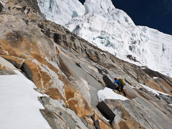 Expedition Karakorum 2012 - Daniele Bernasconi klettert