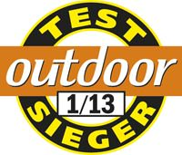 Outdoor Testsieger 01 2013