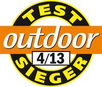 Outdoor Testsieger 04 2013