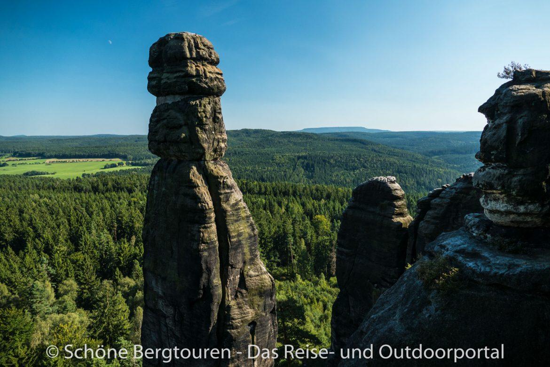 Elbsandsteingebirge - Barbarine am Pfaffenstein