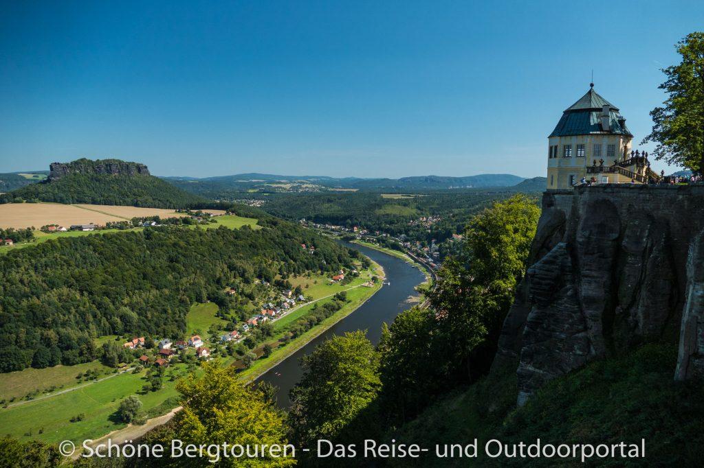 Elbsandsteingebirge - Festung Königsstein